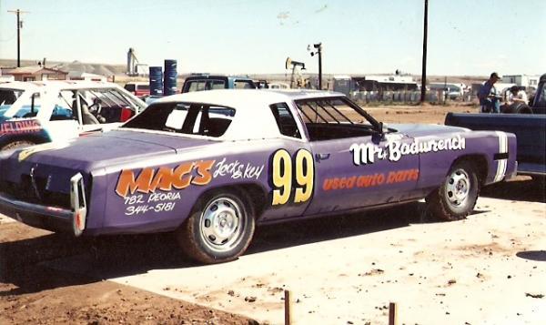 Rocky Mtn stock car