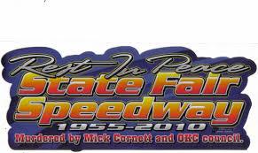 oklahoma state fair speedway logo