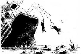 rats leaving ship