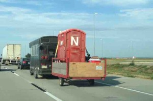 Nebraska portapotty