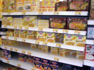 italian grocery store pasta aisle