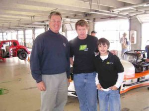 13 Randy w Bill Elliott and chaase
