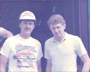 Meeting Bill Elliott - Evergreen Speedway 1985