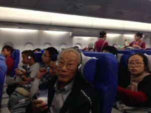 passengers on india flt trip