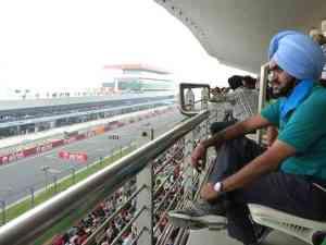 racing view