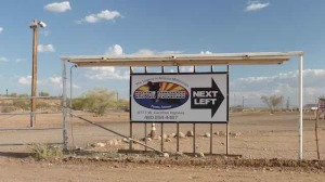 Canyon Motocross sign