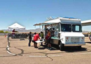 AMP mobile catering truck