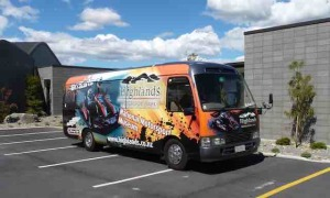 highlands motorsports park bus