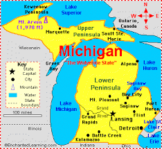 michigan map 2