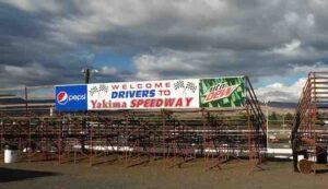 yakima speedway welcome sign