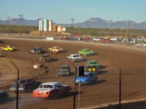 Arizona speedway racing
