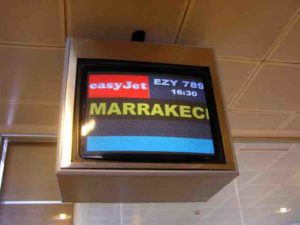 This is us. We're headed for Marrakech, Morocco.
