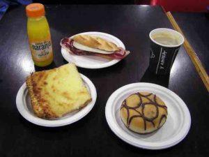 euro breakfast madrid $23