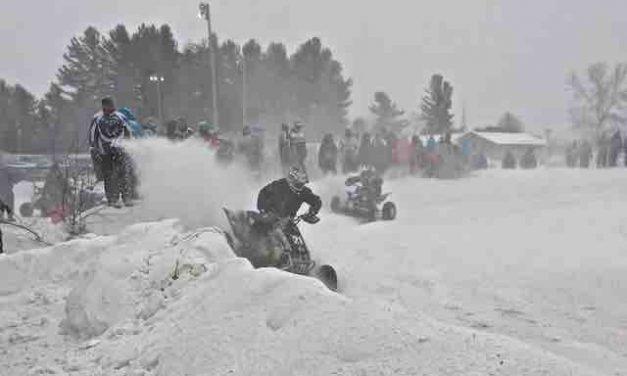 Ste Clotilde-de-Horton Ice Track