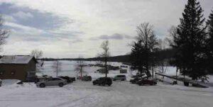 lake wapogasset from shore