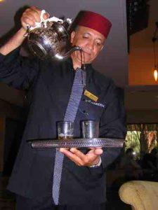 le meridien morocco tea