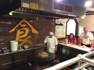 mongolian bbq cook