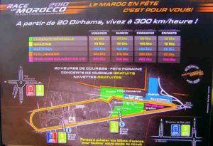morocco road cours map