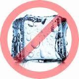 no ice