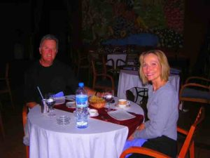 randy carol dinner morocco