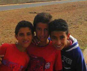 three boys morocco