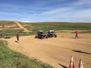 2 sxs racers finger lake raceway