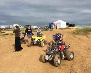 ATV riders finger lake raceway