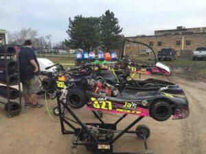 flat karts in paddock hardy murphy