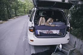 sleeping in car 2