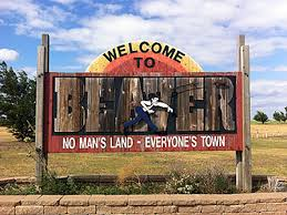beaver ok welcome sign