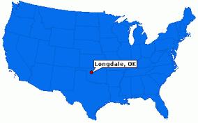 longdale oklahoma map