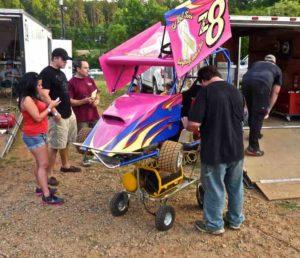 millbridge outlaw karts pink