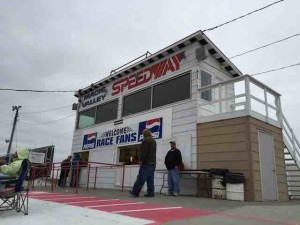 Magic VAlley speedway press box