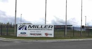 Miller Motorsports Park sign