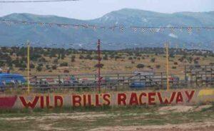 Wild Bill's Raceway sign (1)