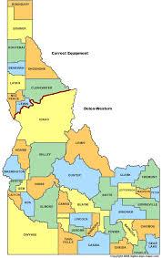 idaho map 490
