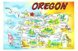 oregon map 493