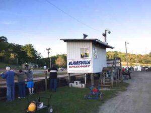 Blairsville Speedway signpg
