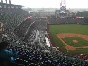 coors field bad weather