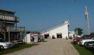 lee county speedway grandstand