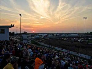 lee county speedway sunset