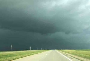 north dakota black skies