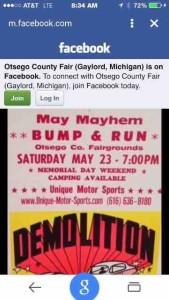 otsego county fair poster