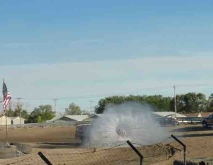 parker fairgrounds water truck