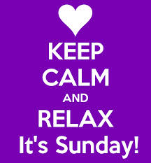 sunday keep calm