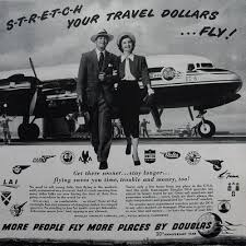 old time air travel