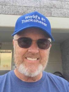 randy w trackchaser hat