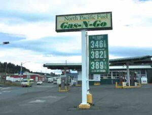 Kodiac gas prices
