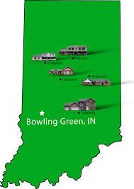 bowling green indiana map
