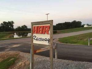 hbr raceway sign